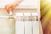 manually adjust the volume of heating valve on the radiator